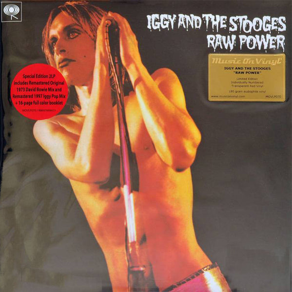 Iggy And The Stooges - Raw Power.  2LPs and Booklet