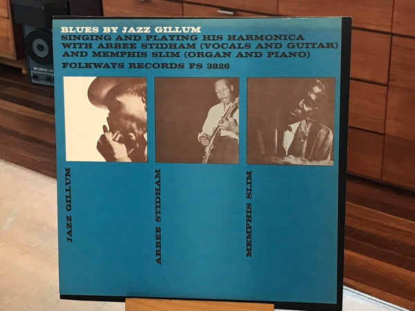 "Jazz Gillum ""Blues By"" w Memphis Slim & Arbee Stidham, Orig. US Folkways FS 3826"