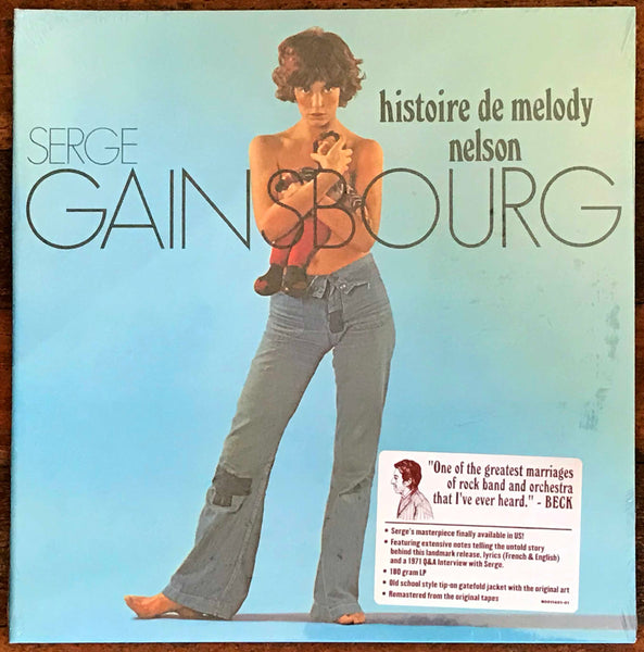 Serge Gainsbourg ‎– Histoire De Melody Nelson, 2009 Light In The Attic ‎– LITA 040, NEW 180g Vinyl