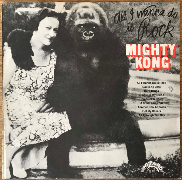"Mighty Kong ‎– ""All I Wanna Do Is Rock"", Original 1974 Wizard Records ZL 204"