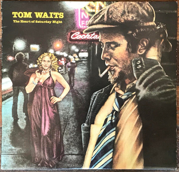 "Tom Waits ‎– ""The Heart Of Saturday Night"", Original 1974 Australian Pressing Asylum Records ‎– 7E-1015"