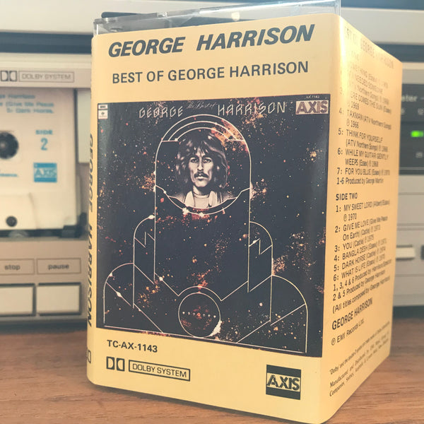 "George Harrison ""Best Of"",  Australian Cassette Tape Axis TC-AX-1143"
