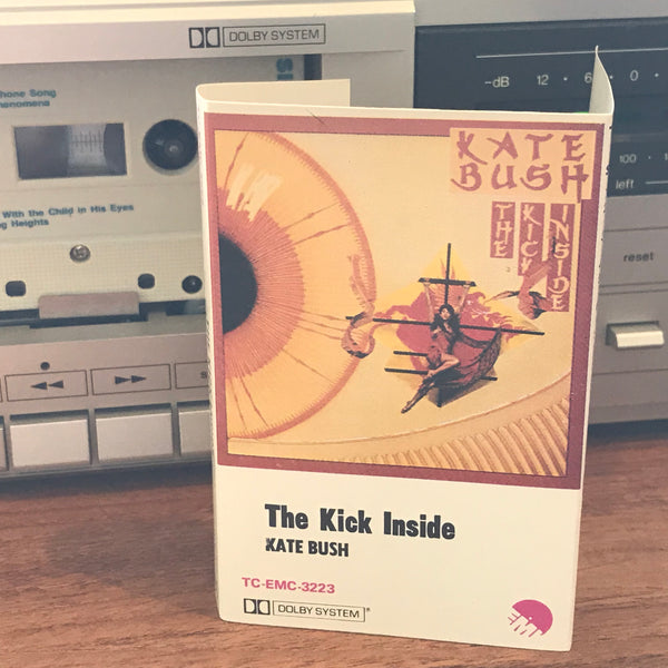 "Kate Bush ‎– ""The Kick Inside"" Australian 1978 EMI TC-EMC-3223 Cassette Tape."