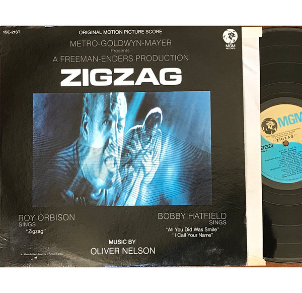 "Oliver Nelson ‎– The Original Motion Picture Score From ""Zigzag"", US 1970 MGM Records ‎– 1SE-21ST"