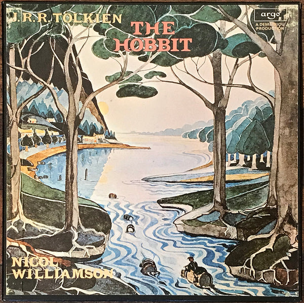 J.R.R. Tolkien, Nicol Williamson ‎– The Hobbit, US Argo ‎– ZPL 1196/9 4LP Box Set w Booklet