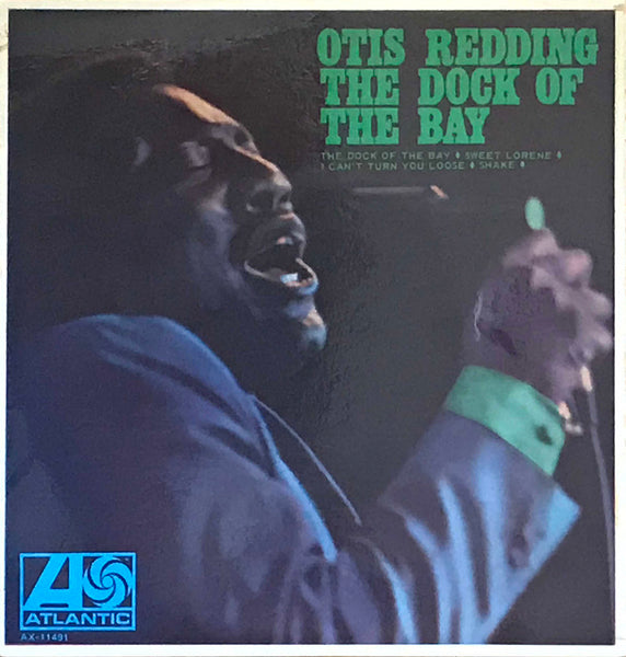 Otis Redding ‎– The Dock Of The Bay, 1968 Australian EP Atlantic ‎– AX-11,491