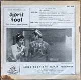 "Shankar Jaikishan ""April Fool"". India 1964 Angel Bollywood 10' LP 3AE. 1039"