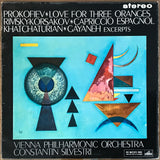 "Prokofiev ""Love For Three Oranges"", Constantin Silvestri. UK HMV ASD 400 ED1 LP"