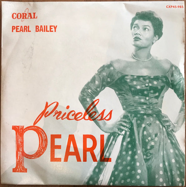 "Pearl Bailey - Priceless Pearl, Sealed 1957 Australian Test Pressing Festival 7"" EP CXP45-985"