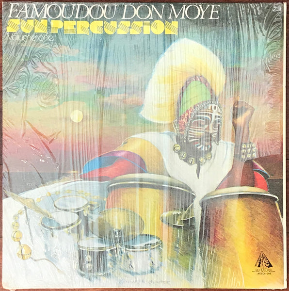 Famoudou Don Moye ‎– Sun Percussion Volume One, AECO Records ‎– AECO 001. Afrobeat, Free Improvisation