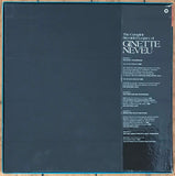 The Complete Recorded Legacy Of Ginette Neveu, UK EMI 4LP RLS 739 Box Set