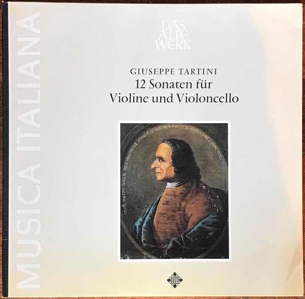 Guglielmo / Pocaterra - Tartini Sonatas Telefunken 2LP SAWT 9592/3. Trade Sample!