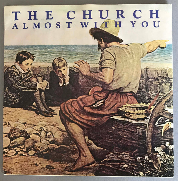 "The Church ‎– Almost With You, 1982 7"" Single Picture Sleeve Parlophone ‎– A647"