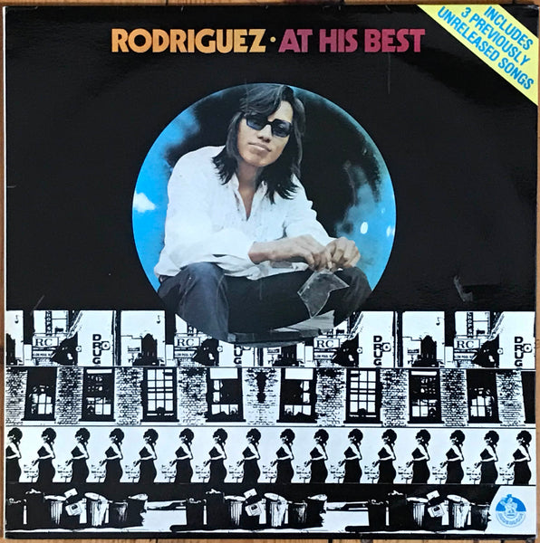 "Sixto Diaz Rodriguez ""Rodriguez ‎– At His Best"", Australia '77, Blue Goose Music BGM 001"