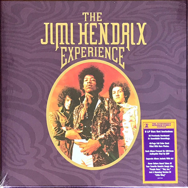The Jimi Hendrix Experience, 180g 8LP Box Set New (Sealed) Vinyl Records