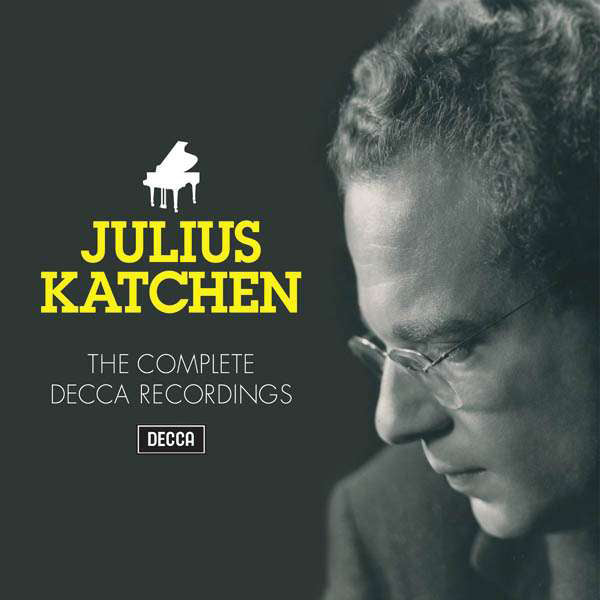 Julius Katchen - The Complete Decca Recordings 35 CDs NEW