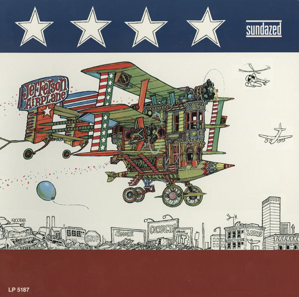 Jefferson Airplane ‎– After Bathing At Baxter's, Mono Reissue 2005 Sundazed Music ‎– LP-5187. Psychedelic Rock