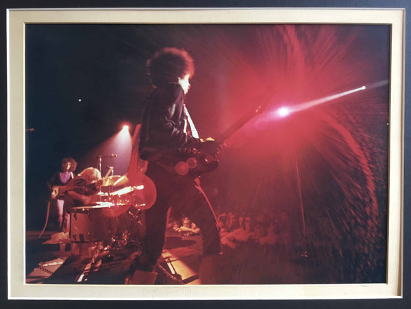 Jimi Hendrix at the Winterland Ballroom, original Jim Marshall photograph, 1968