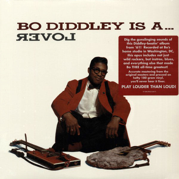 Bo Diddley ‎– Bo Diddley Is A... Lover, 2014 Mono Reissue Sundazed Music ‎– LP 5486