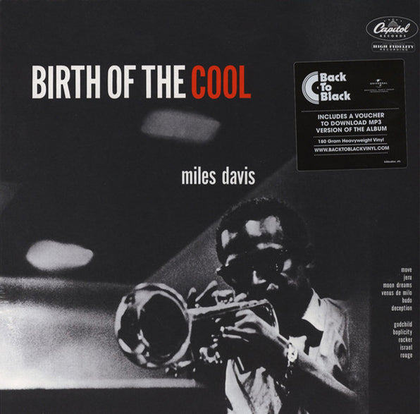 "Miles Davis - ""Birth Of The Cool"" 180g Vinyl + Download"