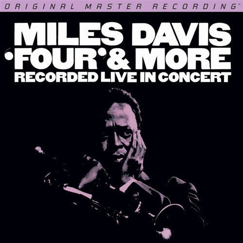 "Miles Davis ""Four"" & More"" Limited Edition MFSL 1-376 Audiophile MOFI Vinyl LP"