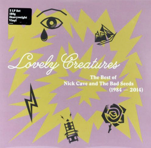 Lovely Creatures: The Best of Nick Cave and The Bad Seeds (1984–2014) 3xLP New