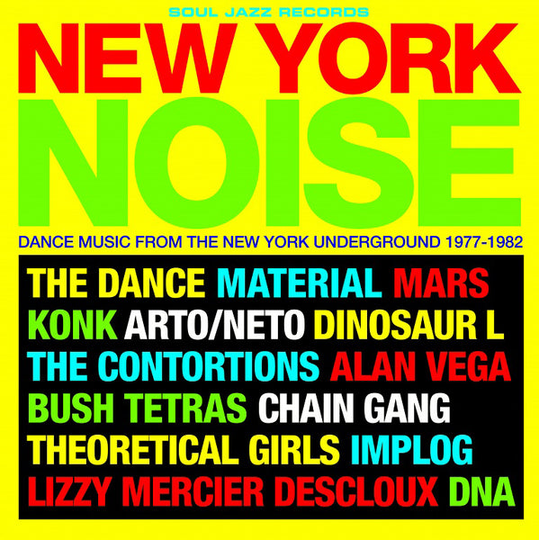 New York Noise 1977-1982 - Various Artists,  2LPs on 180g vinyl