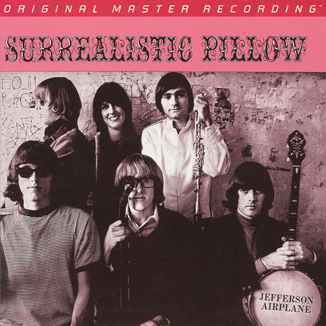 "Jefferson Airplane ‎  ""Surrealistic Pillow"" Double 180g 45RPM Audiophile Vinyl LP (MFSL 2-456)"