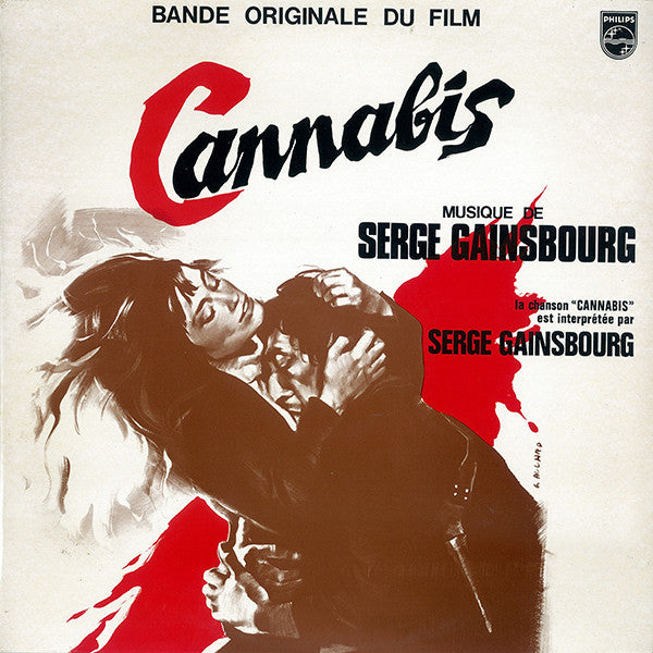 "Serge Gainsbourg ""Cannabis"", Bande Originale Du Film (Soundtrack) NEW 180g Vinyl"