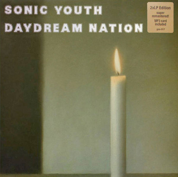 "Sonic Youth ""Daydream Nation"" 2LPs Super Remastered! + MP3 Card"