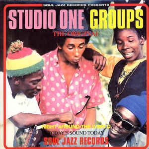 Various ‎– Studio One Groups, The Original, SJR LP151 2 LPs