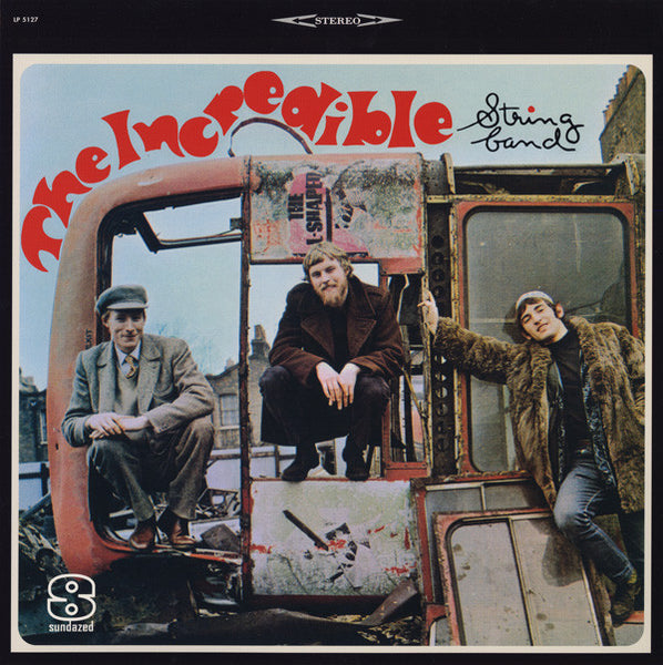 The Incredible String Band ‎– The Incredible String Band, 2003 Sundazed Music ‎– LP 5127