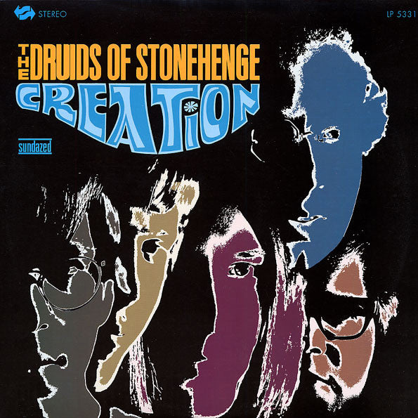 The Druids Of Stonehenge ‎– Creation, Stereo 2010 Reissue Sundazed Music ‎– LP 5331