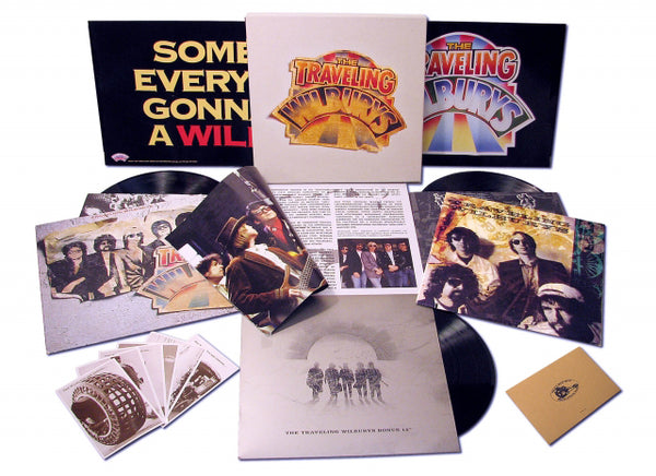 The Traveling Wilburys Collection 3LPs Vinyl Boxset (2016 Reissue)