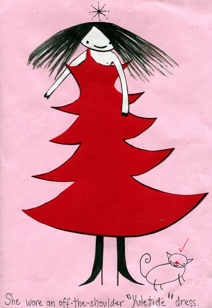 """Yuletide Dress"" by Emma Magenta"