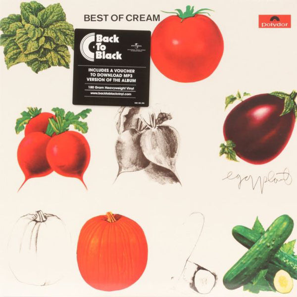 "Cream ""Best Of Cream"" 180g Vinyl LP + MP3"