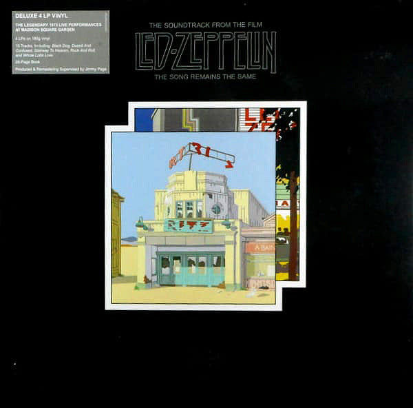 "Led Zeppelin ‎– ""The Song Remains The Same"", Remastered 4 LP Box Set + Booklet"