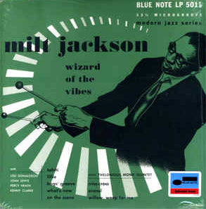 "Milt Jackson ‎– ""Wizard Of The Vibes"", 2014 10"" Blue Note ‎– BLP 5011 New (Sealed) Vinyl"