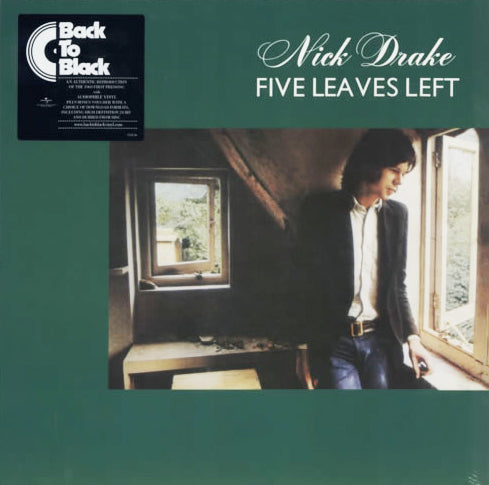 "Nick Drake ""Five Leaves Left"", New 180g Vinyl"