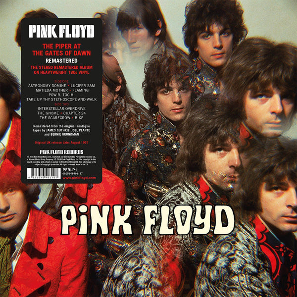"Pink Floyd ""The Piper at the Gates of Dawn"" Remastered - 180g Vinyl"