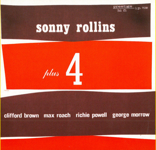 "Sonny Rollins ""Plus 4"", New Prestige LP 7038, 180g Vinyl + Download"