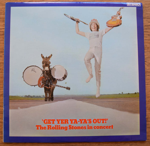 "The Rolling Stones ""Get Yer Ya-Ya's Out!, on Orig. Australian Decca WB label SKLA 5065"