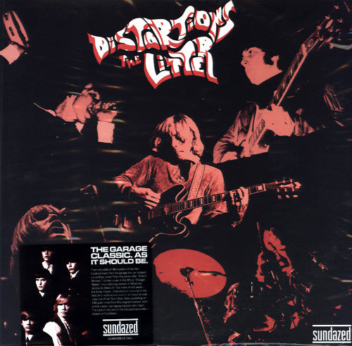 The Litter ‎– Distortions, Mono 180g. 2013 Sundazed Music ‎– LP-5461. Garage / Psychedelic Rock