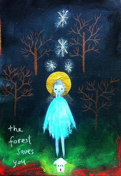 """The Forest Saves You"" by Emma Magenta"
