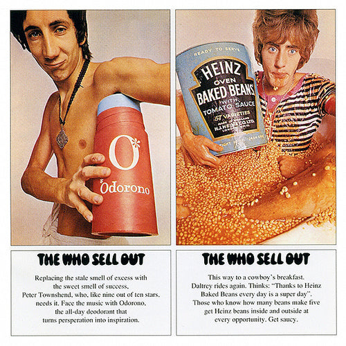 "The Who ""Sell Out""  New 180g Vinyl. EU Track Record ‎– 3715609"