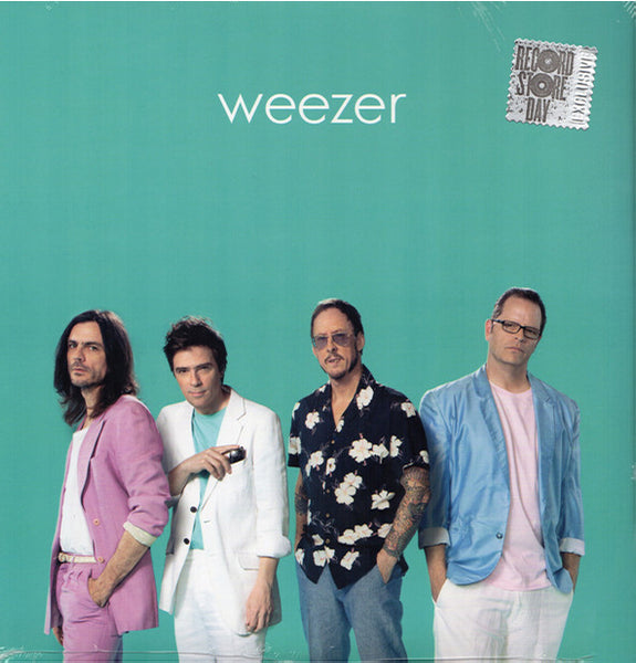 Weezer ‎– Self-Titled. 2019 RSD Limited Edition, Teal Coloured Vinyl, Crush Music 7567-86533-1