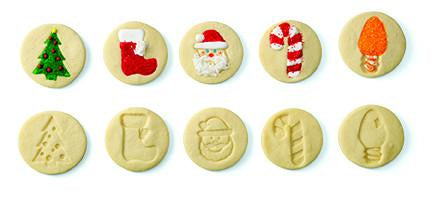 CHEF'N® COOKIE STAMP™ CHRISTMAS DESIGN