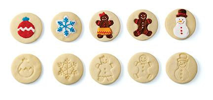 CHEF'N® COOKIE STAMP™ GINGERBREAD DESIGN