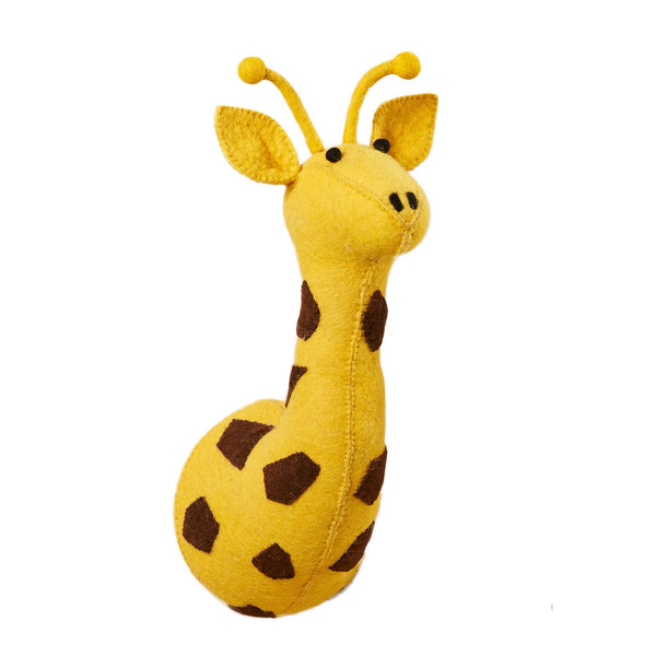 GIRAFFE SAFARI WALL HEAD