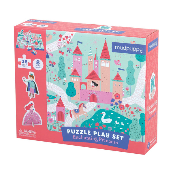 ENCHANTING PRINCESS PUZZLE PLAY SET
